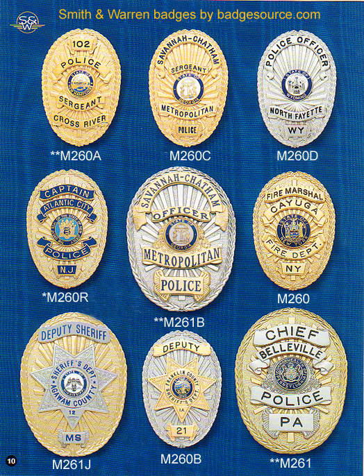 POLICE FIRE SECURITY BADGES
