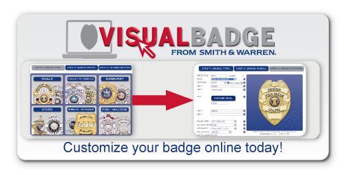 Design your custom badge online in minutes